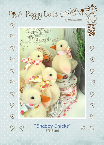 Shabby Chicks Sewing Pattern - PDF Download