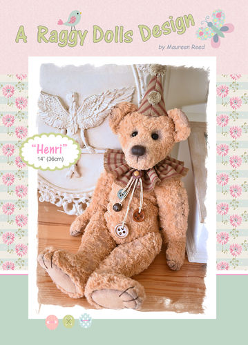 Henri Artist Bear Sewing Pattern