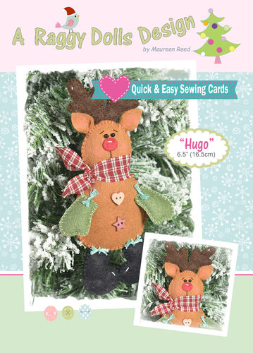 Hugo Reindeer Sewing Pattern