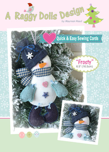 Frosty Snowman Sewing Pattern