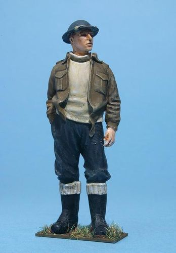 WF35033, 1/35th scale WWII British Royal Navy Sailor Battle Dress Relaxed