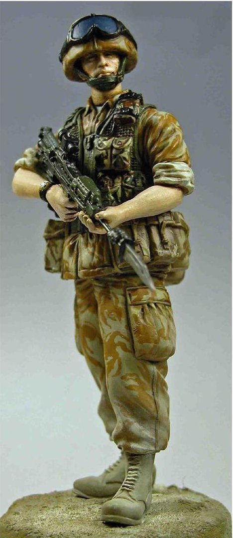 WF12001, 120mm British Modern Infantryman