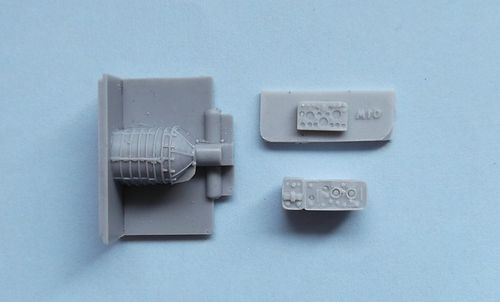 WVC48001, 1/48th scale Achilles Interior set (for Tamiya Achilles 32582)