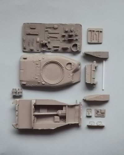"WVC48010, 1/48th scale Canadian Ram MkII Series 5 Kangaroo ""Late Hull"" (M4 parts no sub turret)"