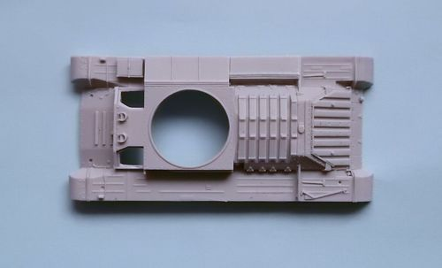 WVC48017, 1/48th scale Valentine MkII Upper hull (Infantry Tank MkIII) (for Bandai)