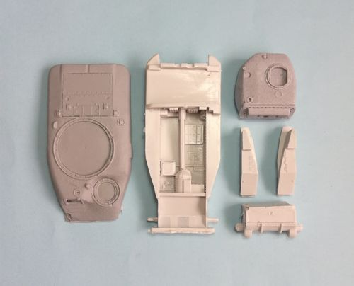 WVC48020, 1/48th scale Canadian Ram MkII Series III Gun Tank Early Hull Conversion