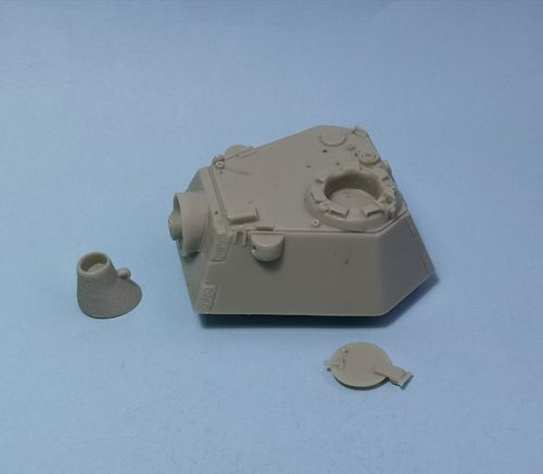 WVC48038, 1/48th scale Panther Ausf G/F Schmalturm Turret set