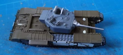 WVC72133, 1/72nd scale Churchill MkIII NA 75 Turret conversion set