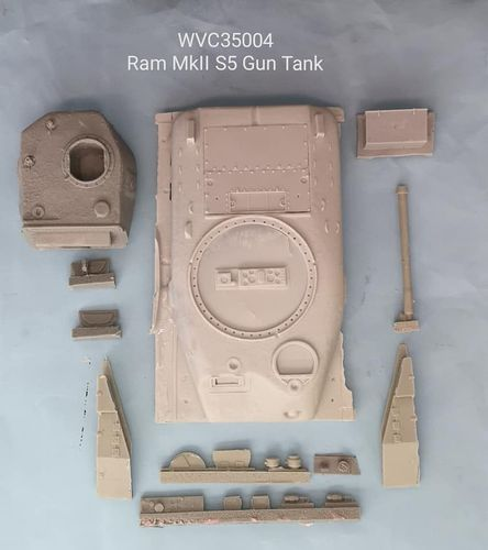 WVC35004, 1/35th scale Canadian Ram Mk.II Series 5 Gun Tank