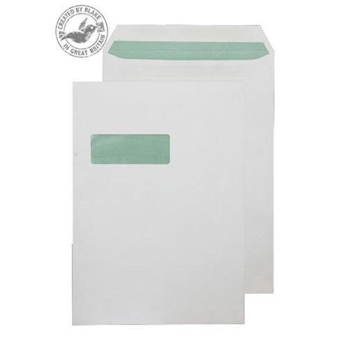 Purely Environmental Pocket SS Wndw Natural White 90gsm C4 Ref RE3759 Pk250 *10 Day Leadtime*