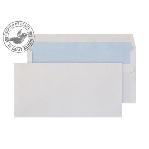 Purely Everyday Wallet Self Seal White 100gsm DL 110x220mm Ref 7772 [Pack 500] *10 Day Leadtime*
