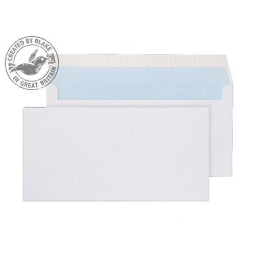 Purely Everyday White Peel and Seal Wallet DL 110x220mm Ref 23882 [Pack 500] *10 Day Leadtime*