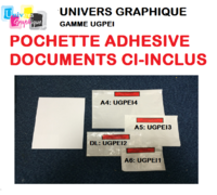 pochette d'expéditions adhésive documents ci-inclus