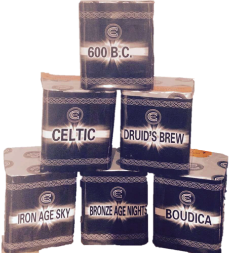 Celtic Fireworks Barrage 6 Pack