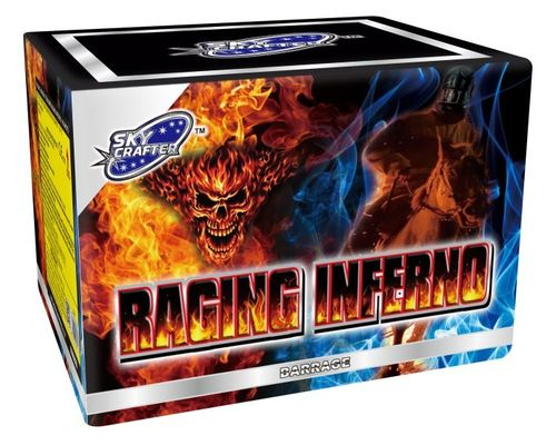 Raging Inferno From Sky Crafter Fireworks