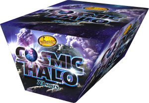 Cosmic Halo From Emperor Fireworks