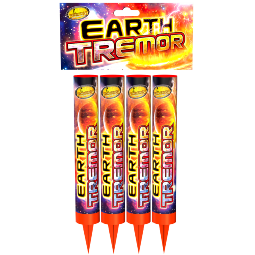 Earth Tremor From Emperor Fireworks