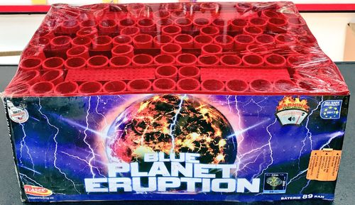 Blue Planet Eruption  Klasek Fireworks