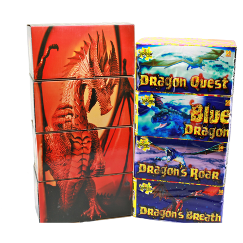 Red Dragon Pack From Star Jigsaw Fireworks