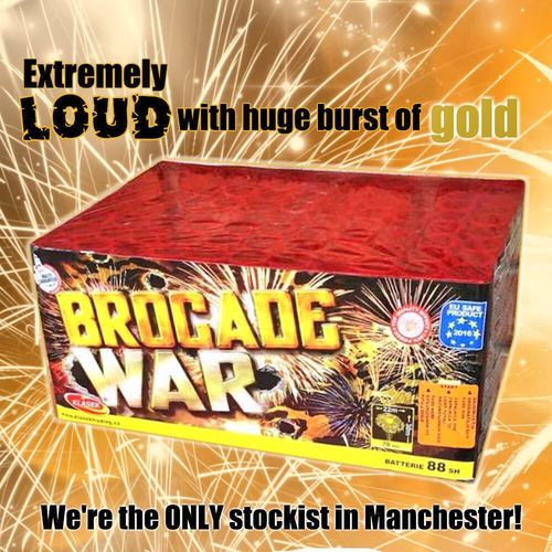 Brocade War From Klasek Fireworks