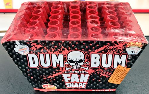 Dum Bum Mini Fan - Klasek Fireworks