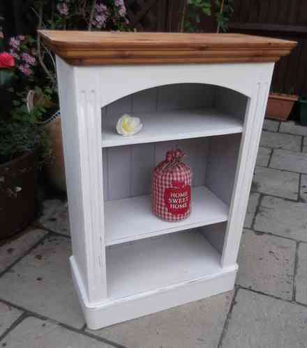 Vintage , hand made , solid pine Bookcase  # # # SOLD # # #