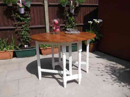 Shabby Chic , Farmhouse , Drop leaf table   # # #  SOLD  # # #