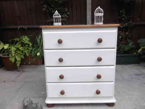 Vintage Pine Farmhouse Chest of drawers  # # # SOLD # # #
