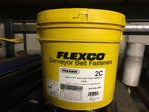 FLEXCO 2c 20017 bolt Solid Plate Fasteners bucket of 100x full sets