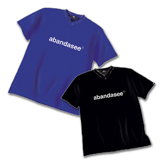 """abandasee"" - T-Shirt in Blau"