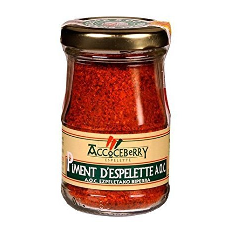 Piment d'Espelette A.O.P. (Chili) - Accoceberry 45g