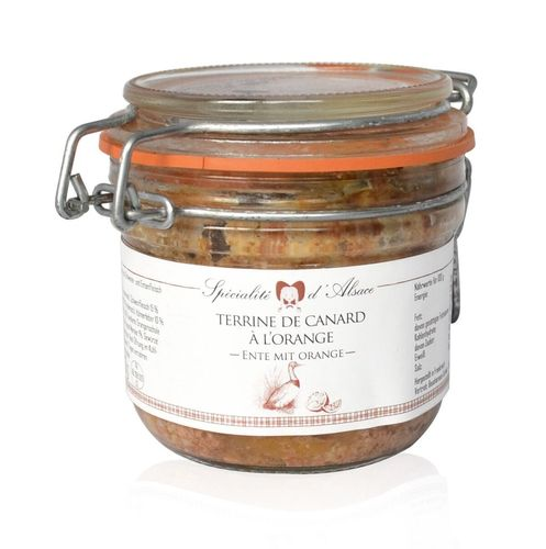 Ententerrine mit Orange - Beauharnais 200g