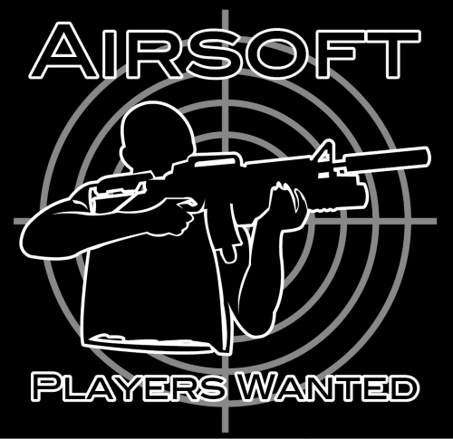 "T-Shirt ""AIRSOFT - Players Wanted"""