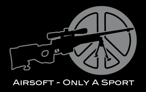 "T-Shirt ""AIRSOFT - Only A Sport"""