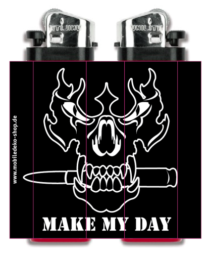 "Feuerzeug ""Make My Day"""