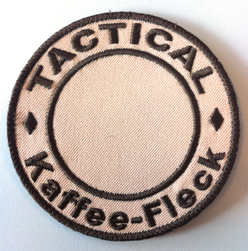 "Patch ""Tactical Kaffee-Fleck"""