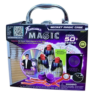 Secret Magic Set with case + DVD Englisch