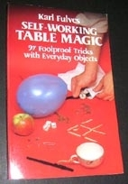 Self-Working Table Magic - Buch (Englisch)