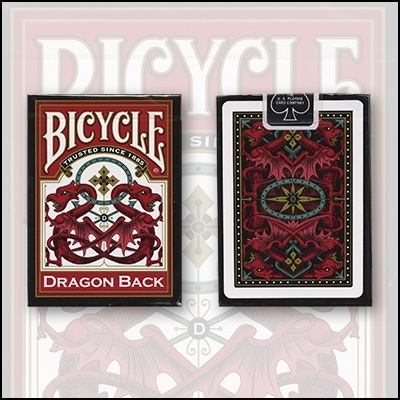 Bicycle Dragon Deck Red