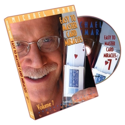 Easy To Master Card Miracles - Volume 7 by Michael Ammar - DVD (Englisch)