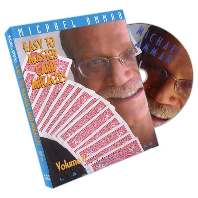 Easy To Master Card Miracles Volume 8 by Michael Ammar - DVD (Englisch)
