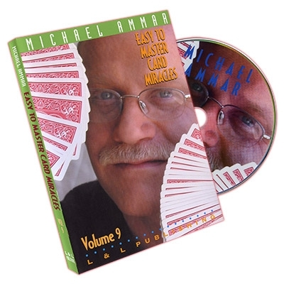Easy to Master Card Miracles Volume 9 by Michael Ammar - DVD (Englisch)
