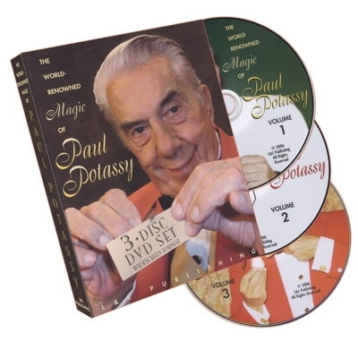 World Renowned Magic of Paul Potassy - DVD (Englisch)