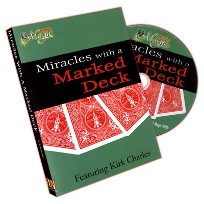 Miracles With A Marked Deck by Kirk Charles - DVD (Englisch)
