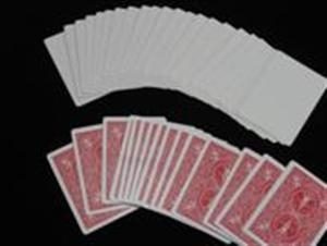 Bicycle - Gaff Cards - Blank Face