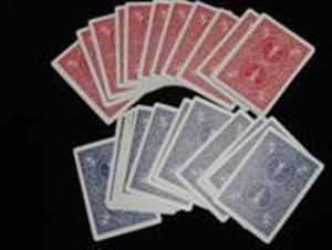 Bicycle - Gaff Cards - Double Back