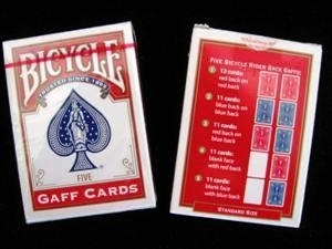 Bicycle - Gaff Cards - Variety Gaff Deck