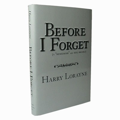 Before I Forget by Harry Lorayne - Buch (Englisch)