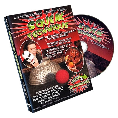 Squeak Technique by Jeff McBride -  DVD (Englisch) und Squeakers