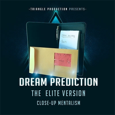 Dream Prediction Elite Version (Wallet) by Paul Romhany + DVD (Englisch)